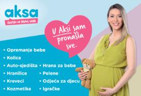 ZAJEDNO OD PRVOG DANA Aksa na novoj lokaciji, poklon paketi dobrodošlice za novorođene bebe (FOTO)