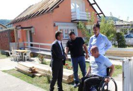 PODRŠKA RATNOM VOJNOM INVALIDU Uz pomoć opštine se rekonstruiše stambeni objekat u Ugljeviku