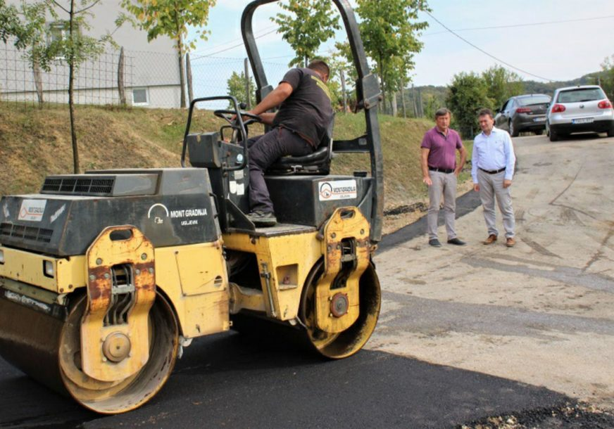 VAŽNA INVESTICIJA Opština Ugljevik ulaže 2,5 miliona KM u nove asfaltne puteve