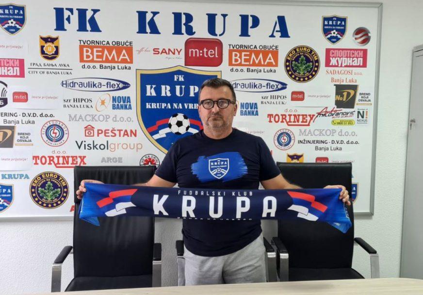 NASLIJEDIO MARIĆA Stojnić novi trener Krupe