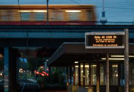 STALI AUTOBUSI I VOZOVI Gužve u njemačkim gradovima zbog štrajka u javnom prevozu