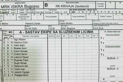 BRUKA U BiH Rukometaš licenciran tokom meča, klubovi najavljuju istupanje