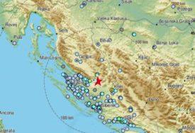 POTRES SE OSJETIO I U BiH Zemljotres jačine 4,2 stepena između Splita i Zadra (FOTO)