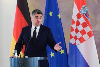"""""""OMOGUĆITI JEDNAKOST SVIH NARODA"""" Milanović ističe da BiH mora funkcionisati u skladu sa Dejtonskim sporazumom"""
