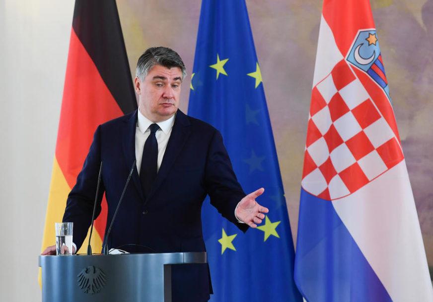STRASTI SE NE SMIRUJU Milanović: Ja sam MALA BEBA u odnosu na BAHATOG Plenkovića
