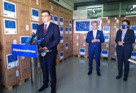 TEGELTIJA OD SATLERA PREUZEO DONACIJU EU Medicinska oprema vrijedna 900.000 evra kao pomoć u borbi protiv korone