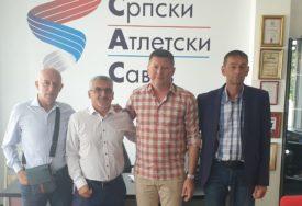SASTANAK U BEOGRADU Saradnja atletskih saveza Srpske i Srbije