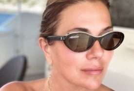 NIKAD PROVOKATIVNIJA Branka Nevistić za kormilom u minijaturnom kupaćem