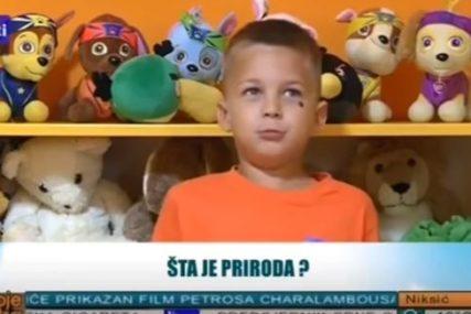 SNIMAK KOJI OBILAZI REGION Odgovor dječaka  oduševio sve, internet vrvi od komentara (VIDEO)