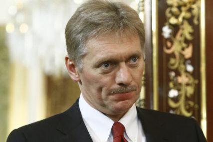 SLUČAJ TROVANJA NAVALJNOG Peskov: Nema osnova za uvođenje sankcija Moskvi