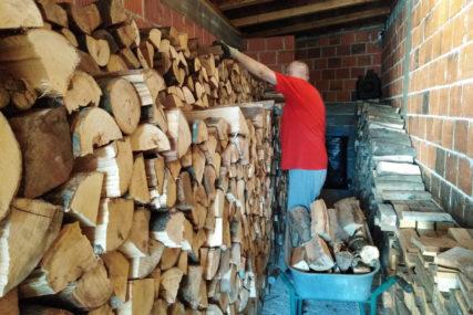 ZIMA SE ODUŽILA Drva za ogrijev najtraženija roba, a cijene paprene