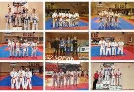 KARATISTI ENERGIJE I NITENA NAJUSPJEŠNIJI Više od 200 takmičara nastupilo na prvenstvu Srpske