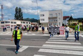 PROTEST ZBOG AUTOPUTA BANJALUKA-PRIJEDOR Mještani Kozarca ne žele da prodaju imanja