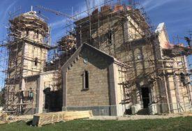 KAMEN IZ AFRIKE ZA SRPSKU SVETINJU Kako teče obnova manastira Miloševac u Prijedoru