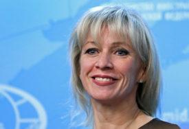 """APELOVALA DA EU PREISPITA SVOJU POLITIKU Zaharova: Očigledni su pokušaji da se """"zaljulja brod"""" u Bjelorusiji"""
