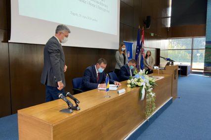 MITROVIĆ I BUTKOVIĆ POTPISALI SPORAZUM Počinje obnova mostova na granici BiH i Hrvatske