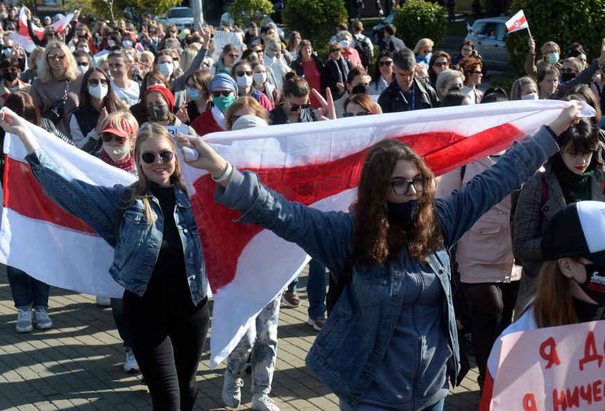 PROTESTI U BJELORUSIJI Na desetine demonstranata uhapšeno u Minsku
