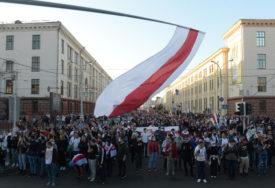 GRAĐANI SPONTANO IZAŠLI NA ULICE Demonstracije u Minsku poslije Lukašenkove inauguracije