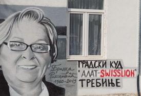 """MURAL ZA NEZABORAV Veterani GKUD """"Alat"""" na poseban način izrazili zahvalnost Branki Ratković"""