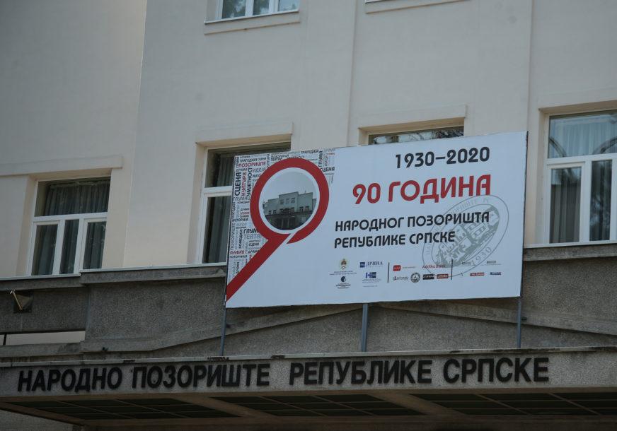 NAJAVLJENA SVEČANA AKADEMIJA Obilježavanje 90 godina od osnivanja Narodnog pozorišta Republike Srpske