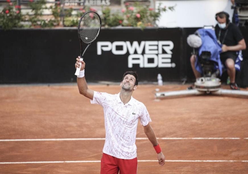 OBORIO REKORD Novak želi trofej u finalu