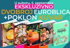 """RUČAK GOTOV ZA 20 MINUTA I narednog vikenda uz svaki """"EuroBlic"""" očekuje vas POKLON KUVAR"""