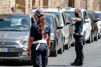 HAPŠENJE SRBINA U ITALIJI Policija ga zaustavila jer nije imao MASKU, kada su mu tražili dokumenta on ih NAPAO