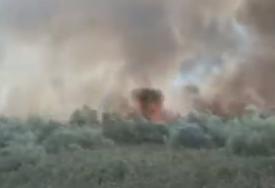 NEPRISTUPAČAN TEREN Veliki požar u Crnoj Gori