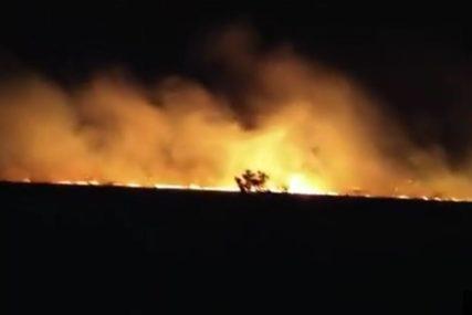 JOŠ JEDNA BESANA NOĆ IZA NJIH Vatrogasci do ranih jutarnjih časova gasili buktinju kod Mostara