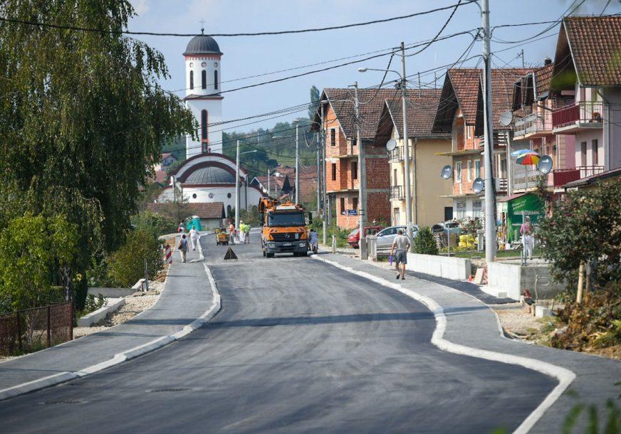 U TOKU ASFALTIRANJE Pri kraju izgradnja saobraćajnice kroz Šargovac