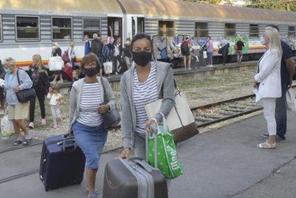 PANDEMIJA UZROKOVALA STRMOVIT PAD U Srbiji prevezeno 43 odsto manje putnika