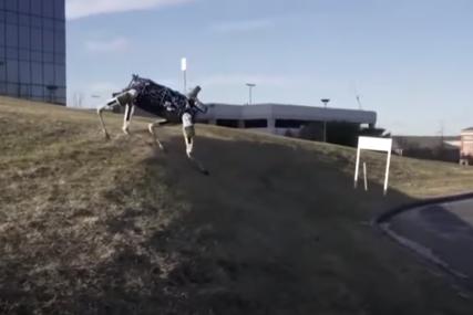 """""""TUMARANJE"""" CRVENOM PLANETOM Robotski psi uskoro bi mogli hodati Marsom (VIDEO)"""