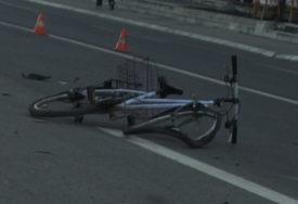 Prevezen u UKC RS: U saobraćajnoj nesreći kod Laktaša teško povrijeđen biciklista