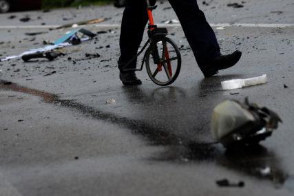 Teška saobraćajna nesreća kod Gornjeg Vakufa: Autobus sletio s puta, POVRIJEĐENO 16 OSOBA