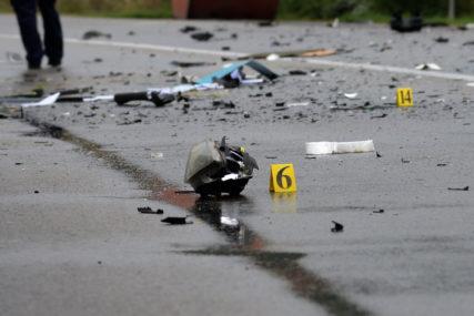 Saobraćajna nesreća na putu Tuzla-Doboj: Dvije osobe povrijeđene u sudaru