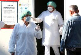 BLAGI PAD BROJA NOVOZARAŽENIH U Sarajevu na korona virus pozitivno još 165 osoba, dvije osobe preminule