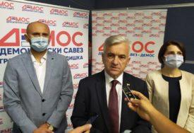 OČEKUJU DOBAR REZULTAT Čubrilović: Cilj Demosa da bude parlamentarna stranka u svim lokalnim zajednicama