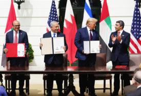 """NOVO DOBA ZA BLISKI ISTOK U Bijeloj kući potpisan """"istorijski sporazum"""" Izraela, UAE i Bahreina"""