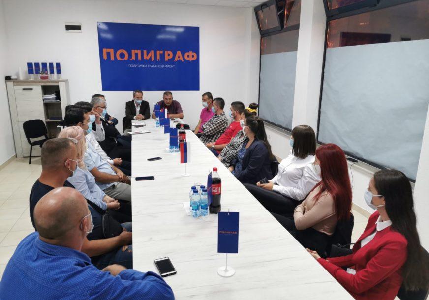 """""""VIZIONARSKI PROJEKAT"""" Talić očekuje da Poligraf zabilježi dobar rezultat u Trebinju"""