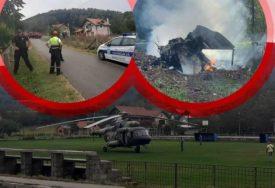 """""""BORIO SE DA NE UDARI U KUĆE"""" Pilot na Fejsbuku objavio fotografiju AVIONA U KOJEM SU POGINULI"""