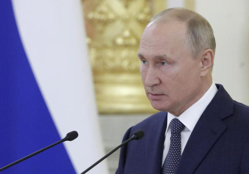 """PUTIN U KIRGISTANU """"Rusija se nikada NE MIJEŠA u unutrašnje poslove susjeda"""""""