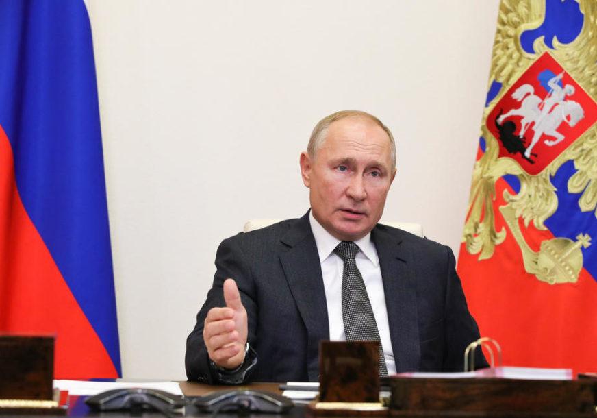 """""""OPASNOST NIJE PROŠLA"""" Putin o borbi Rusije protiv korona virusa"""