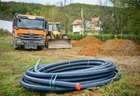 POČELA IZGRADNJA VODOVODNE MREŽE Planirano sedam kilometara cjevovoda u Jagarama i Karanovcu