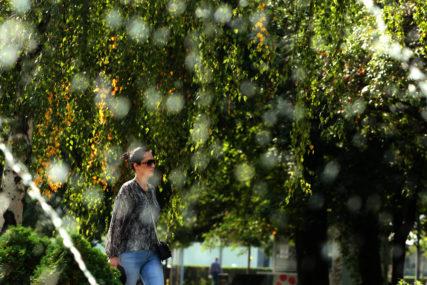 TEMPERATURA DO 24 STEPENA Danas sunčano vrijeme uz umjerenu oblačnost