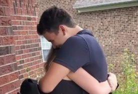GANULI CIJELI SVIJET Zbog karantina mjesecima nije vidjela najboljeg prijatelja, a onda je on riješio da je iznenadi (VIDEO)