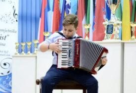 MAKSIMALAN BROJ BODOVA Desetogodišnji harmonikaš Đorđe Perić osvojio DVIJE ZLATNE MEDALJE