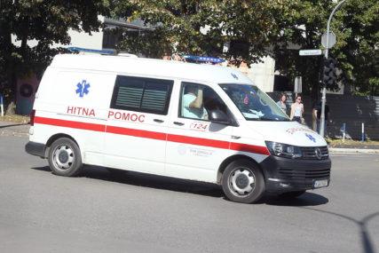 Teže povrijeđen biciklista iz Doboja: Prevezen u Univerzitetski klinički centar u Banjaluci