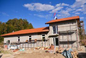 """""""SIMBOL NASELJA"""" Pri kraju gradnja Društvenog doma u Gornjoj Piskavici"""