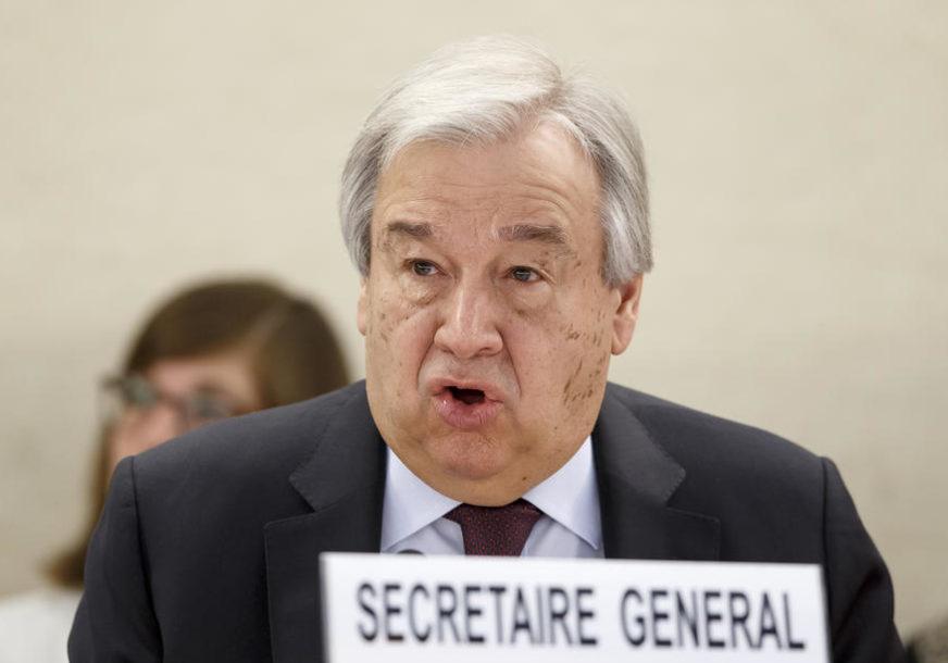MEĐUNARODNA BORBA PROTIV KORONE Guteres: Kovid 19 mora biti u vrhu dnevnog reda samita G20