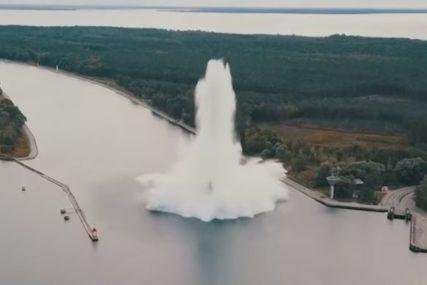 EVAKUISANO OKO 750 STANOVNIKA Eksplodirala ogromna bomba (VIDEO)